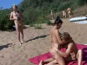 Swinger am strand