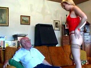 Blondine junge Opa fickt Junge Blondine