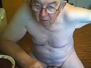 Opa wichst alter Schwuler Opa